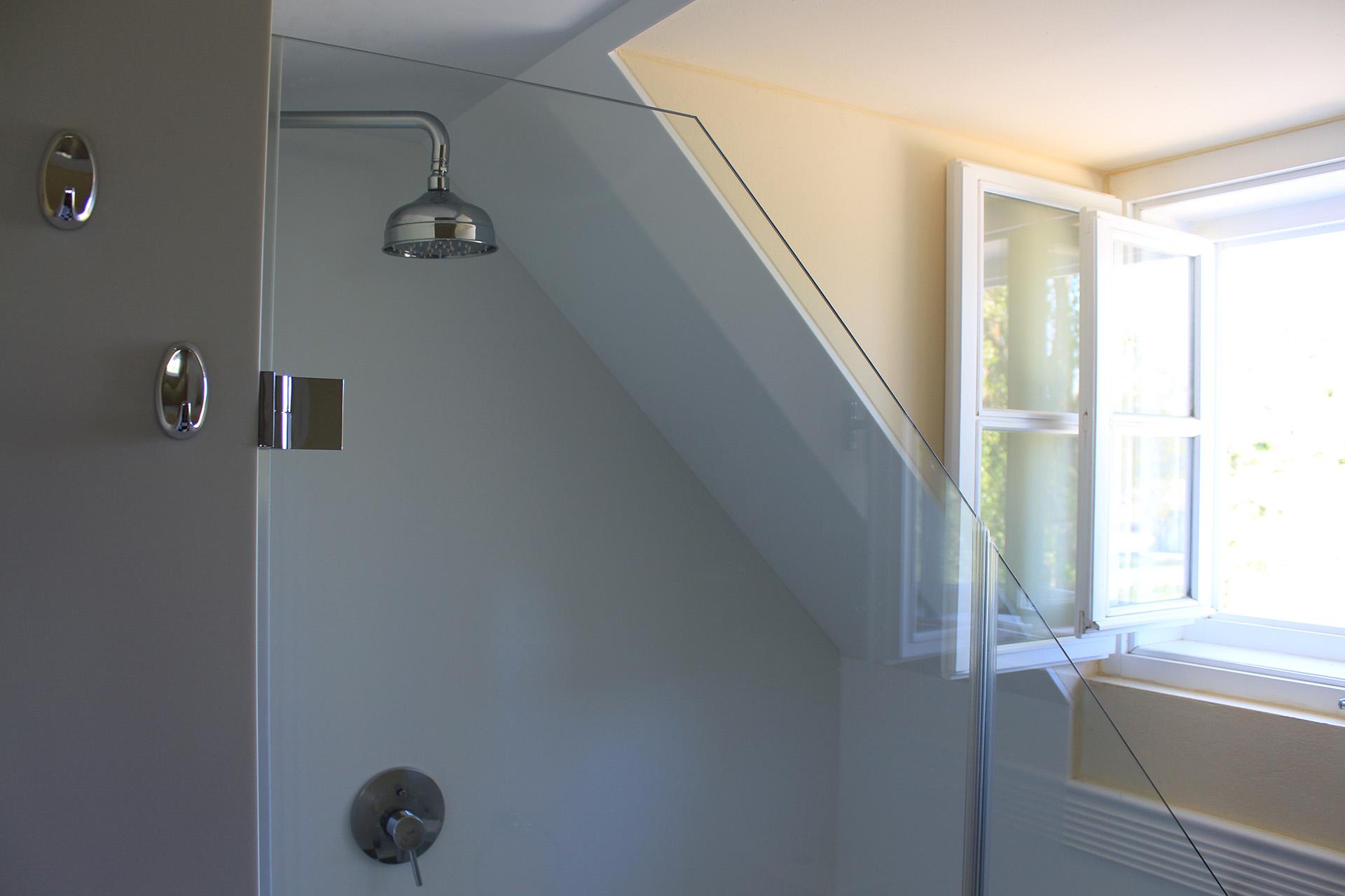 Das Badezimmer des Cottage