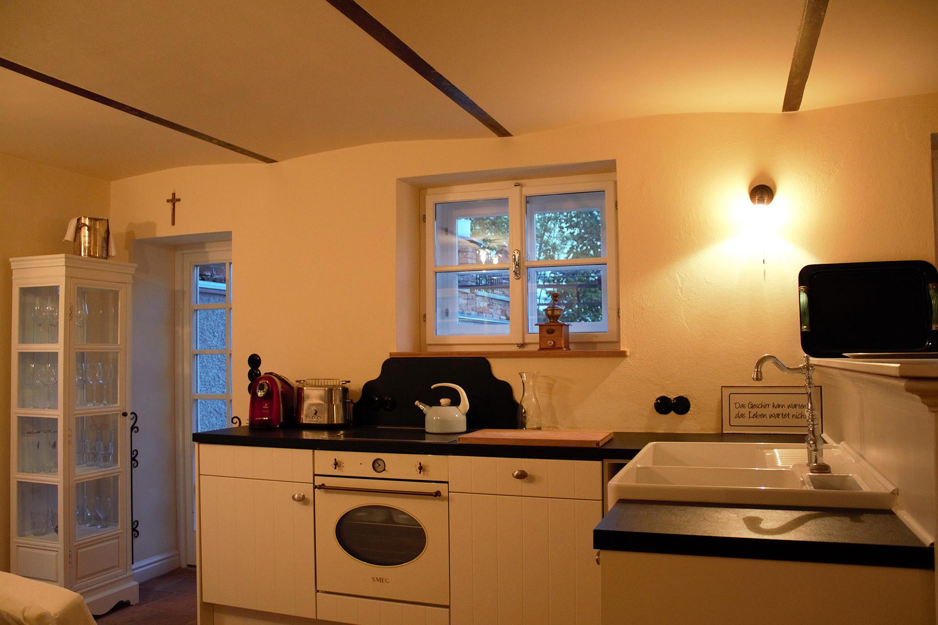 Die Küche des Cottage